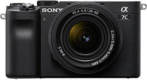 Фотоаппарат SONY Alpha a7C + 28-60mm Black (ILCE7CLB.CEC) официальная гарантия