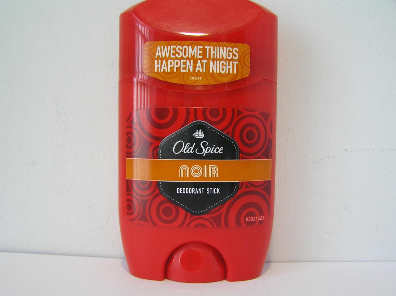 Твердый мужской дезодорант антиперспирант Old Spice Noir 50 мл. (Олдспайс Ноир стик)