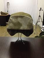 Армейская зимняя шапка оливковая