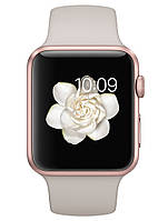 Apple 42mm Rose Gold Aluminum Case with Stone Sport Band (MLC62), фото 1