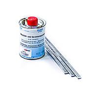 Набор для профессионального лужения кузова авто и пайки оловом FELDER (аналог WURTH) паста 1кг и олово 0,9кг