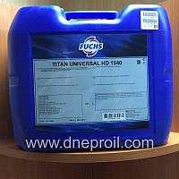 Моторное масло FUCHS TITAN UNIVERSAL HD SAE 15W-40 20л., фото 1