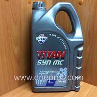 Моторное масло FUCHS TITAN SYN MC 10w-40  5л., фото 1