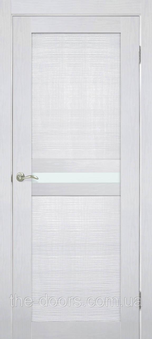 Двери межкомнатные ОМиС Optima 03 стекло сатин