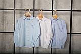 Сорочка біла дитяча 92, на кнопках з довгим рукавом SmileTime, фото 5