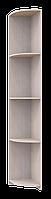 Угловой элемент к шкафу купе Сити лайт 300х450х2250 ДСП Дуб молочний