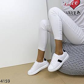 Кеды женские белые 4159