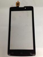 Оригинальный тачскрин / сенсор (сенсорное стекло) для Fly IQ4402 Era Style 1 (черный цвет)