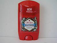 Твердый мужской дезодорант антиперспирант Old Spice Wolfthorn 50 мл. (Олд Спайс Волк)