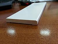 Наличник пластиковый белый Cezar 2200/70 мм