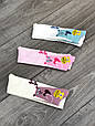 Колготи для немовлят бавовна KBS з Ведмедики для дівчат 0р 6 шт в уп мікс з 3х кольорів, фото 4
