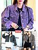 Укорочена леопардова джинсовці стильна 42-44 (в кольорах), фото 4