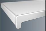 Подоконник ПВХ 100 - 700мм, белый