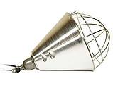 Рефлектор для инфракрасной лампы (абажур) Tehno MS  S1020  цвет алюминий, фото 2