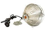 Рефлектор для инфракрасной лампы (абажур) Tehno MS  S1020  цвет алюминий, фото 3