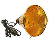 Рефлектор для інфрачервоної лампи (абажур) Tehno MS S1021 бронзовий колір, фото 2