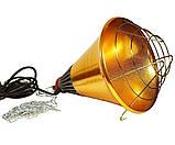 Рефлектор для інфрачервоної лампи (абажур) Tehno MS S1021 бронзовий колір, фото 3