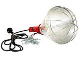 Рефлектор для інфрачервоної лампи (абажур) Tehno MS S1005 колір алюміній, фото 2