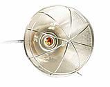 Рефлектор для інфрачервоної лампи (абажур) Tehno MS S1005 колір алюміній, фото 3