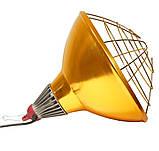 Рефлектор для інфрачервоної лампи (абажур) Tehno MS S1022 бронзовий колір, фото 3