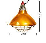 Рефлектор для інфрачервоної лампи (абажур) Tehno MS S1022 бронзовий колір, фото 6