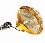 Рефлектор с галогенной лампой (абажур) Tehno MS  S1030 цвет бронза, фото 3