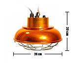 Рефлектор с галогенной лампой (абажур) Tehno MS  S1030 цвет бронза, фото 7