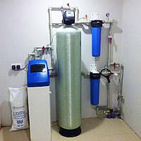 Установка очистки воды от примесей железа.