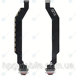 Шлейф - коннектор зарядки для OnePlus 6 (A6000, A6003) с разъемом зарядки, оригинал (1041100028)