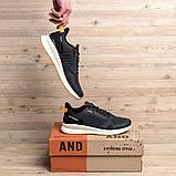 Чоловічі сірі кросівки BS Running Grey, фото 4