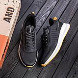 Чоловічі сірі кросівки BS Running Grey, фото 3