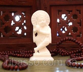 9170061 Статуетка білий мармур Крішна