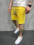 😜 Шорти - Чоловічі шорти / чоловічі шорти на літо спортивні жовті, фото 2