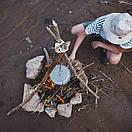 Підвіс для триноги. Підвісна ланцюжок для казанка над вогнем Qvien (Складна), фото 6