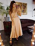 Платье женское шелковое на бретелях BRQ1740, фото 2