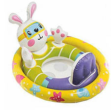 Детский надувной круг с трусиками Intex 59570, 71х76х58см, фото 3