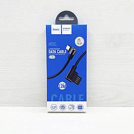 USB кабель Hoco U37 microUSB (Чёрный)
