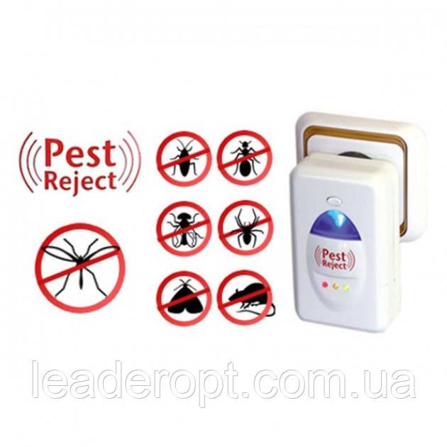 ОПТ Ультразвуковой отпугиватель комаров, мух, тараканов, грызунов Reject Pest