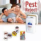 ОПТ Ультразвуковой отпугиватель комаров, мух, тараканов, грызунов Reject Pest, фото 3