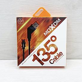 USB кабель MOXOM CC-33 microUSB (Чёрный)