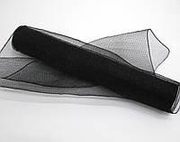 Флористическая сетка черная для упаковки цветов и подарков FKA