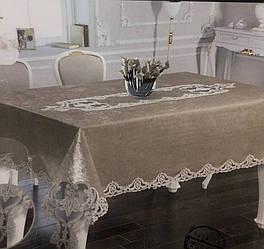 Скатерть на раздвижной стол 150*260 фирмы Ayova