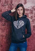 Підлітковий светр-худі Серце