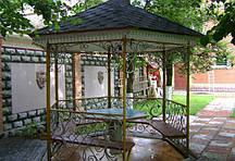 Ковані садові альтанки