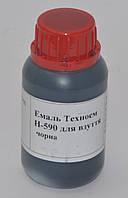 Краска для кожи Н-590, цв. черный, 100 гр