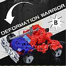 """Конструктор робот-трансформер """"Deformation Warrior: Red Detent"""" 28 см Червоний, фото 6"""