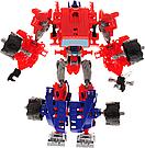 """Конструктор робот-трансформер """"Deformation Warrior: Red Detent"""" 28 см Червоний, фото 3"""