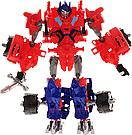 """Конструктор робот-трансформер """"Deformation Warrior: Red Detent"""" 28 см Червоний, фото 4"""