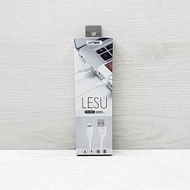 USB кабель Remax Lesu RC-050i Lightning (Белый)