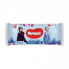Дитячі вологі серветки Huggies Frozen Over Clean, 56 шт